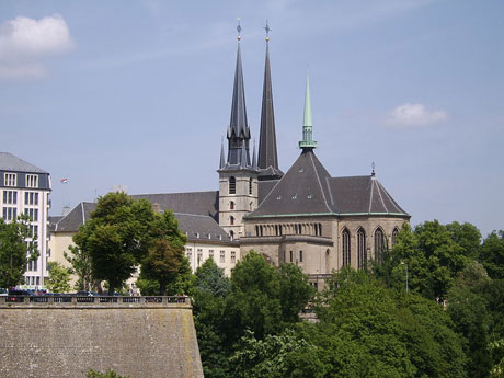 Notredame cathedral luxembourg photo